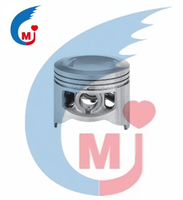 Motorcycle Parts Motor Piston de Bajaj